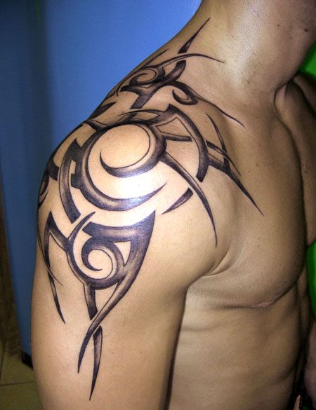 Shoulder Word Tattoos (7)