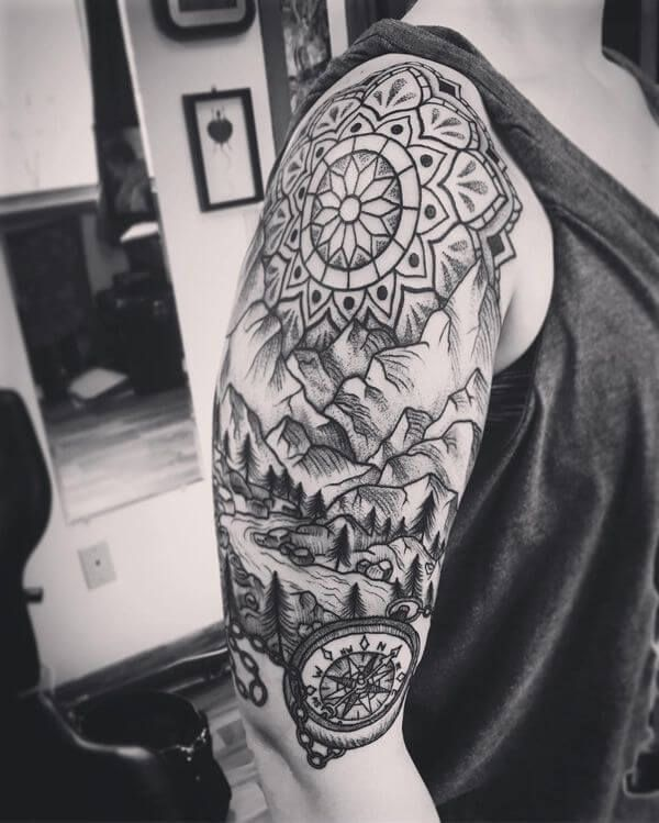 Simple Shoulder Tattoos For Guys (5)