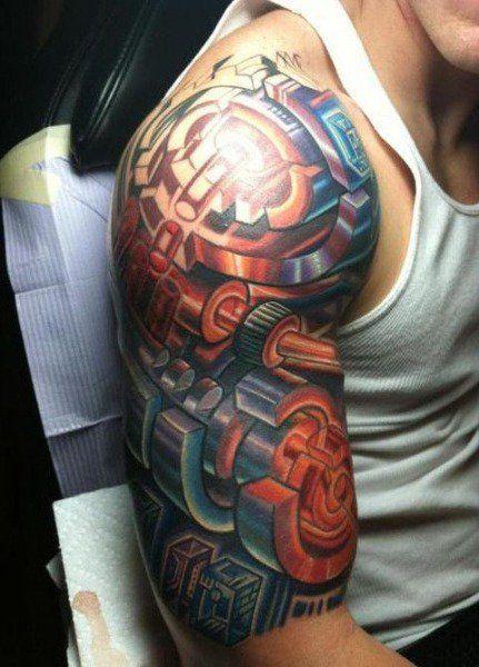Tattoo Ideas For Men Shoulder (3)