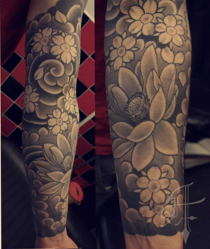 Traditional Japanese Tattoo Full Sleeve