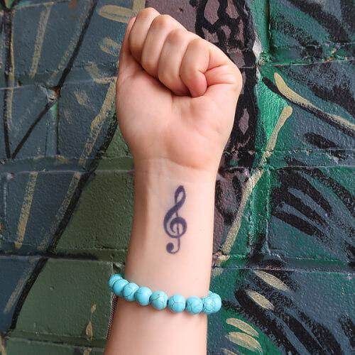 Treble Clef Tattoo Designs (1)