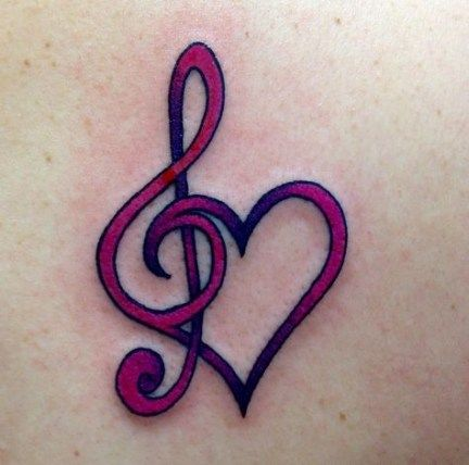 Treble Clef Tattoo Meaning (8)