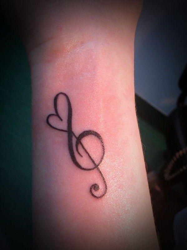 Treble Clef Tattoos (7)