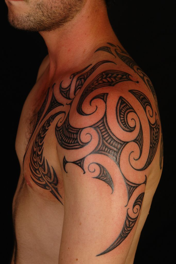 Tribal Tattoos For Men Shoulder And Arm (5)