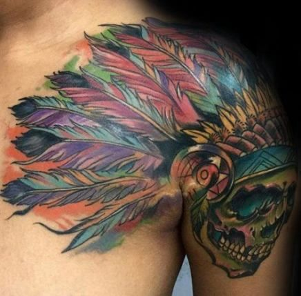 Tribal Tattoos For Men Shoulder And Arm (6)