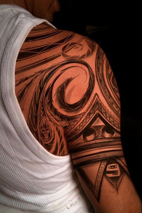 Tribal Tattoos For Men Shoulder And Arm (9)