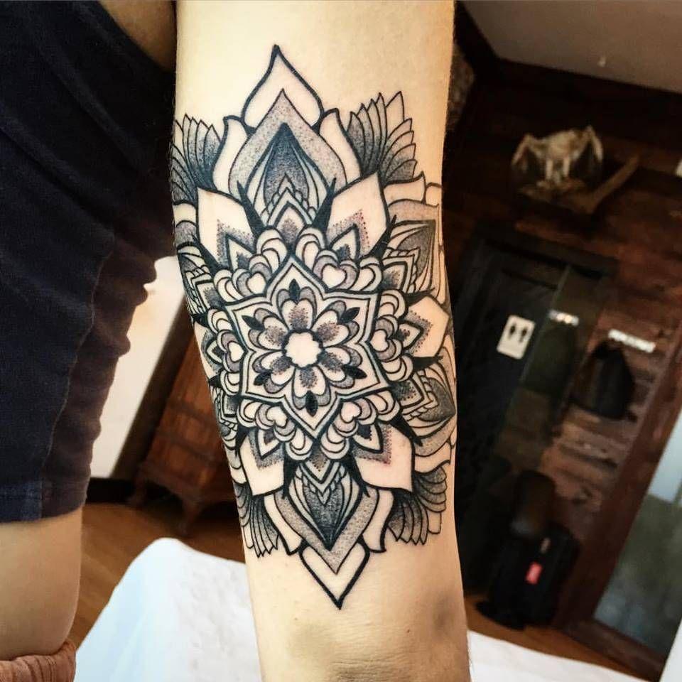 White Ink Snowflake Tattoo (5)