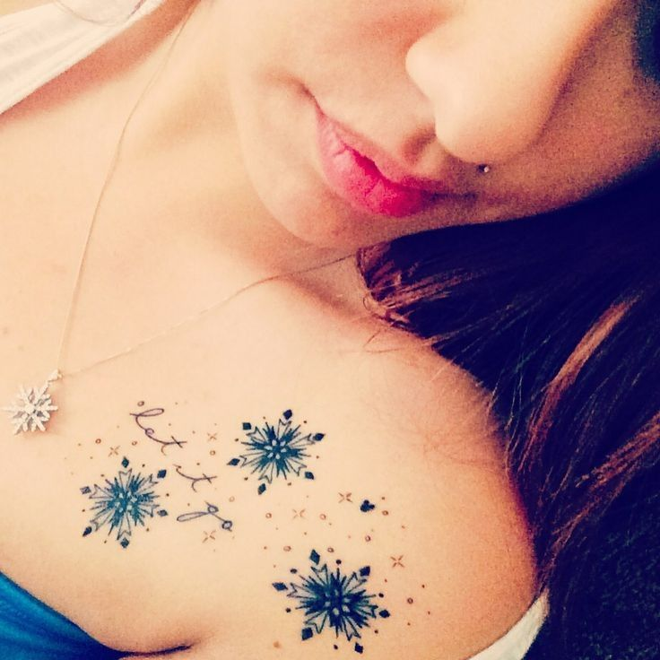 White Ink Snowflake Tattoo (9)
