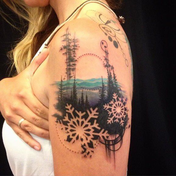 Winter Tattoos (10)