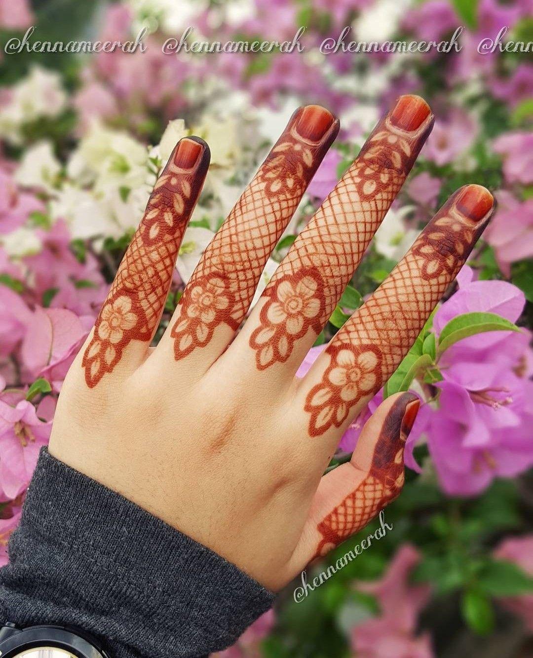 Arabic Dulhan Mehandi Dizain Photos (117)