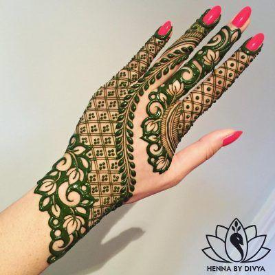 Arabic Dulhan Mehandi Dizain Photos (123)