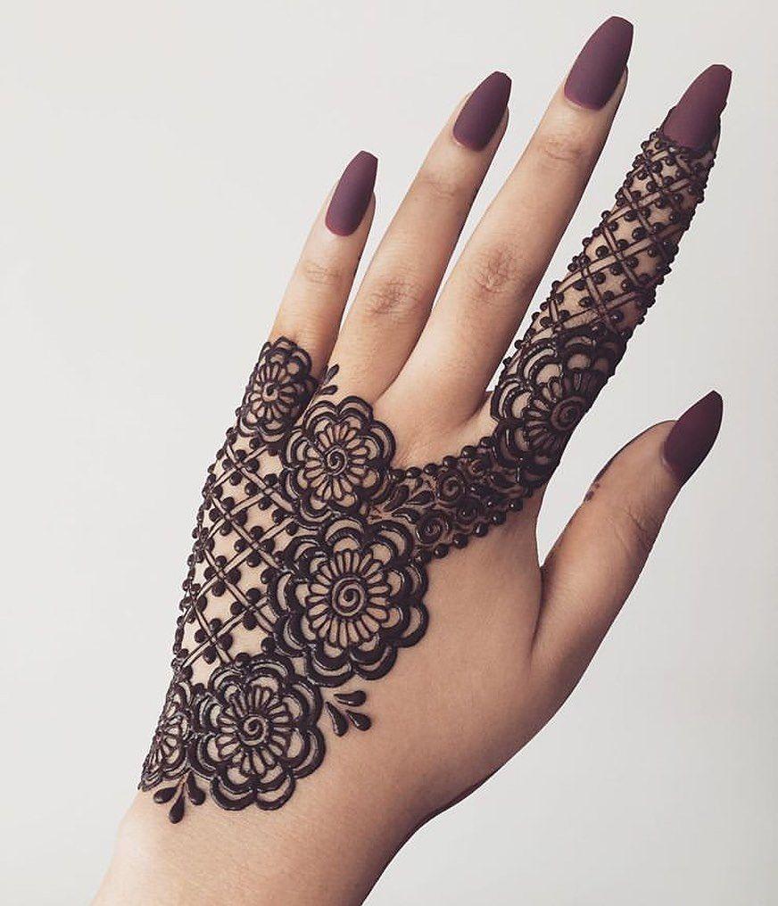Arabic Dulhan Mehandi Dizain Photos (124)