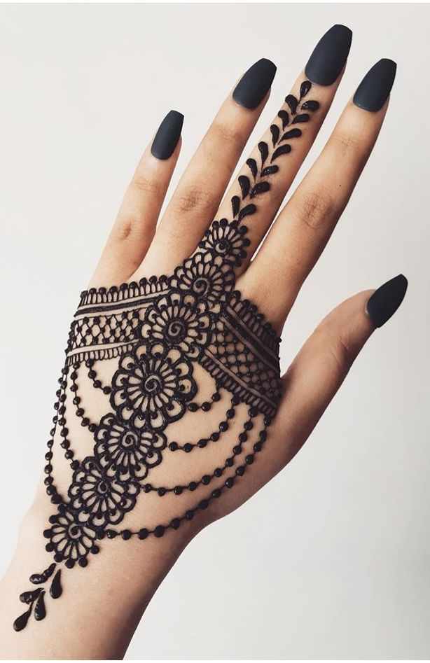 Arabic Dulhan Mehandi Dizain Photos (14)
