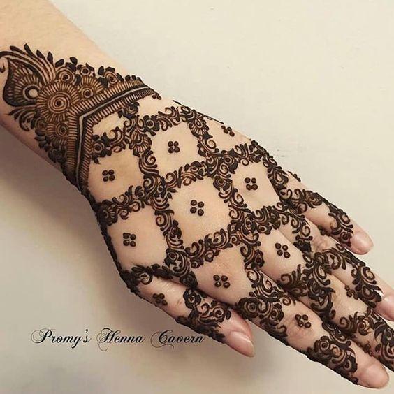 Arabic Dulhan Mehandi Dizain Photos (149)