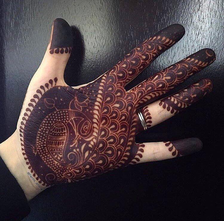Arabic Dulhan Mehandi Dizain Photos (173)