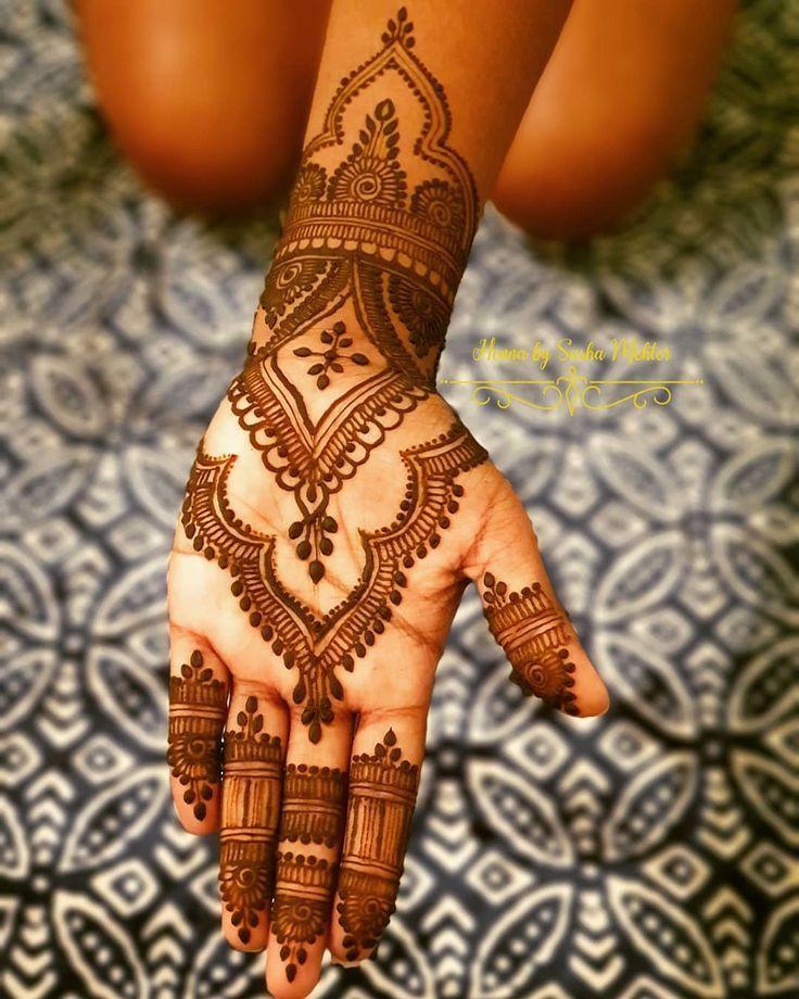 Arabic Dulhan Mehandi Dizain Photos (18)