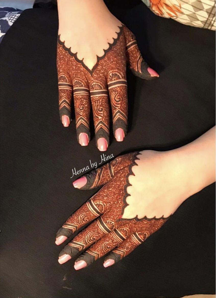 Arabic Dulhan Mehandi Dizain Photos (19)