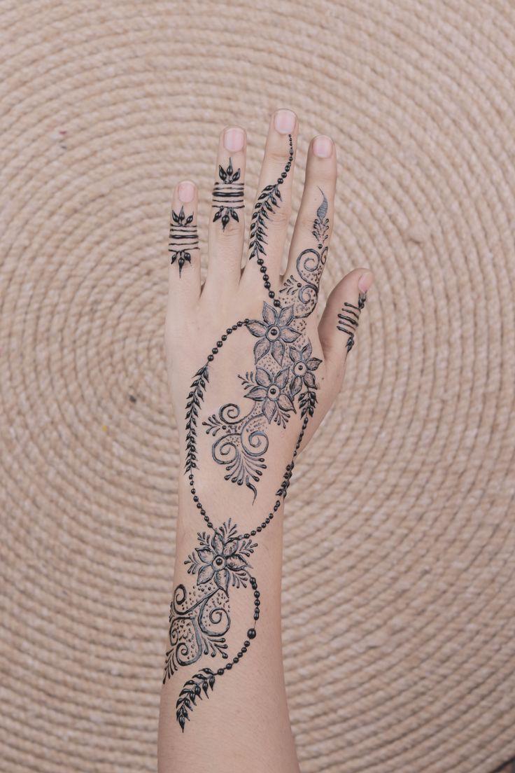 Arabic Dulhan Mehandi Dizain Photos (197)