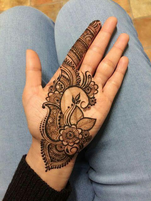 Arabic Dulhan Mehandi Dizain Photos (20)