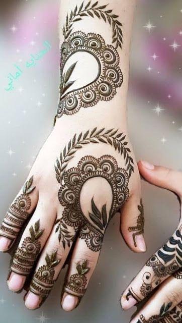 Arabic Dulhan Mehandi Dizain Photos (24)