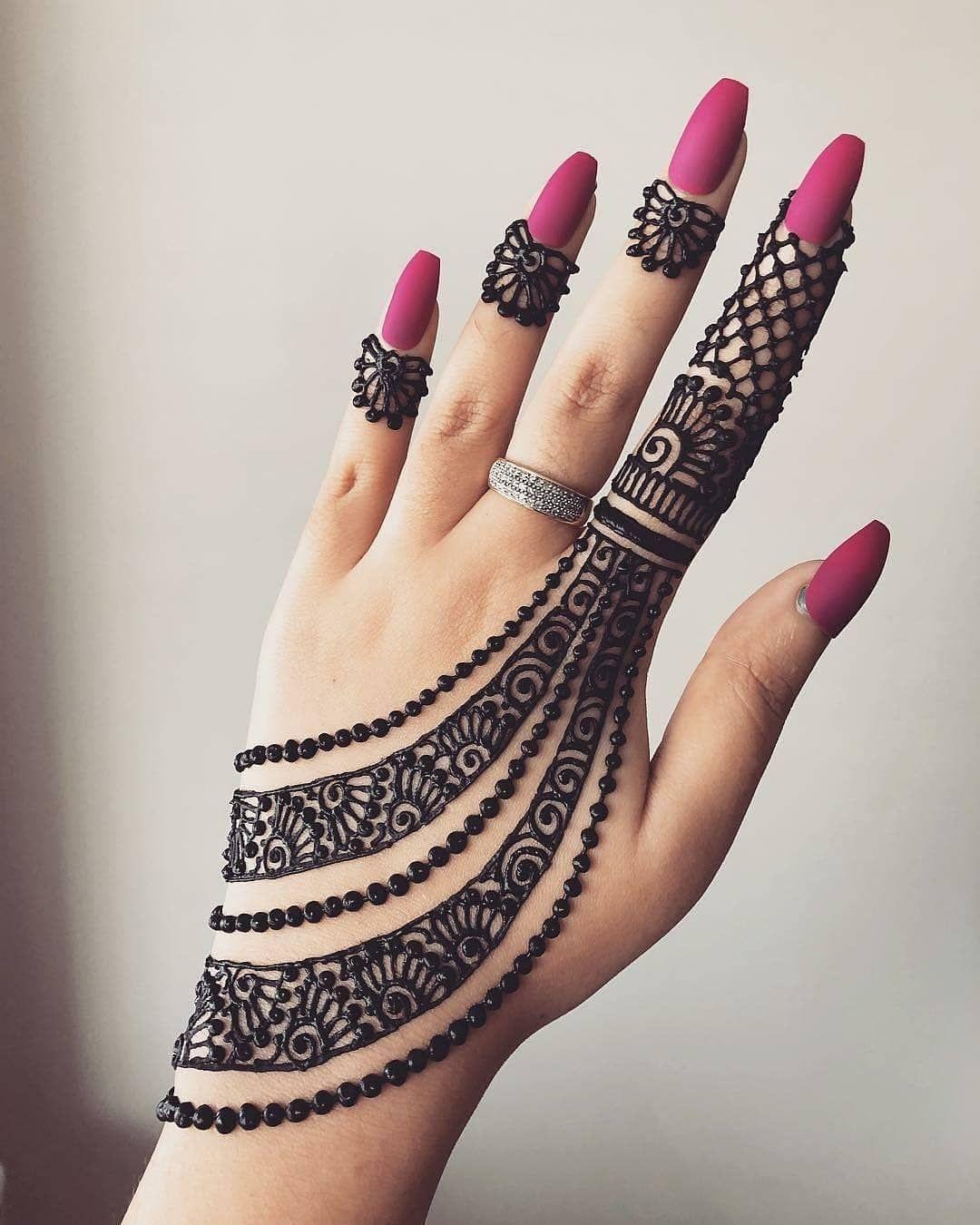 Arabic Dulhan Mehandi Dizain Photos (3)