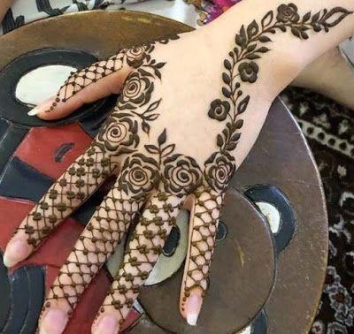 Arabic Dulhan Mehandi Dizain Photos (44)