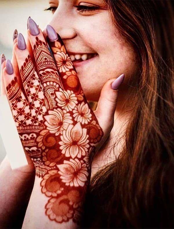 arabic dulhan mehandi dizain photos