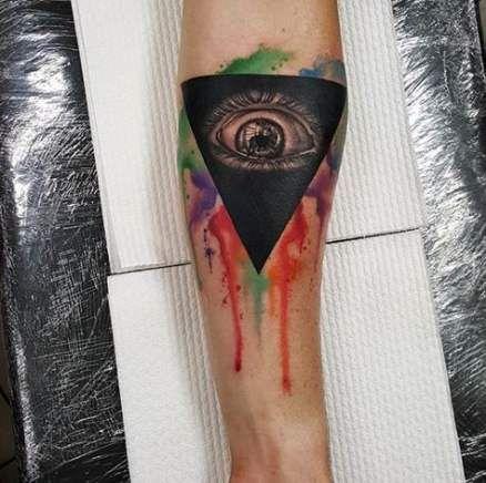 Evil Eye Tattoo Designs (1)