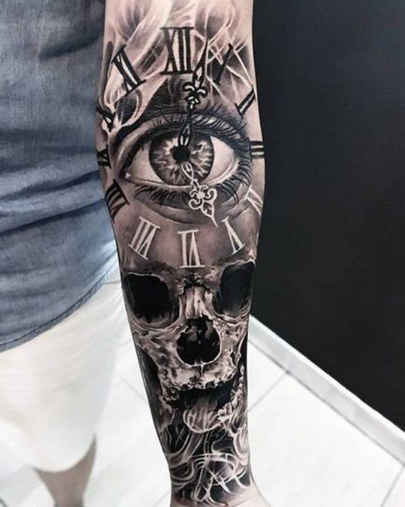 Eye For An Eye Tattoo (2)