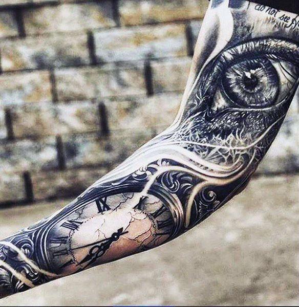 Eye For An Eye Tattoo (3)