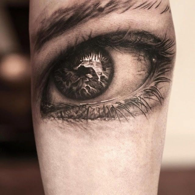 Eye For An Eye Tattoo (4)