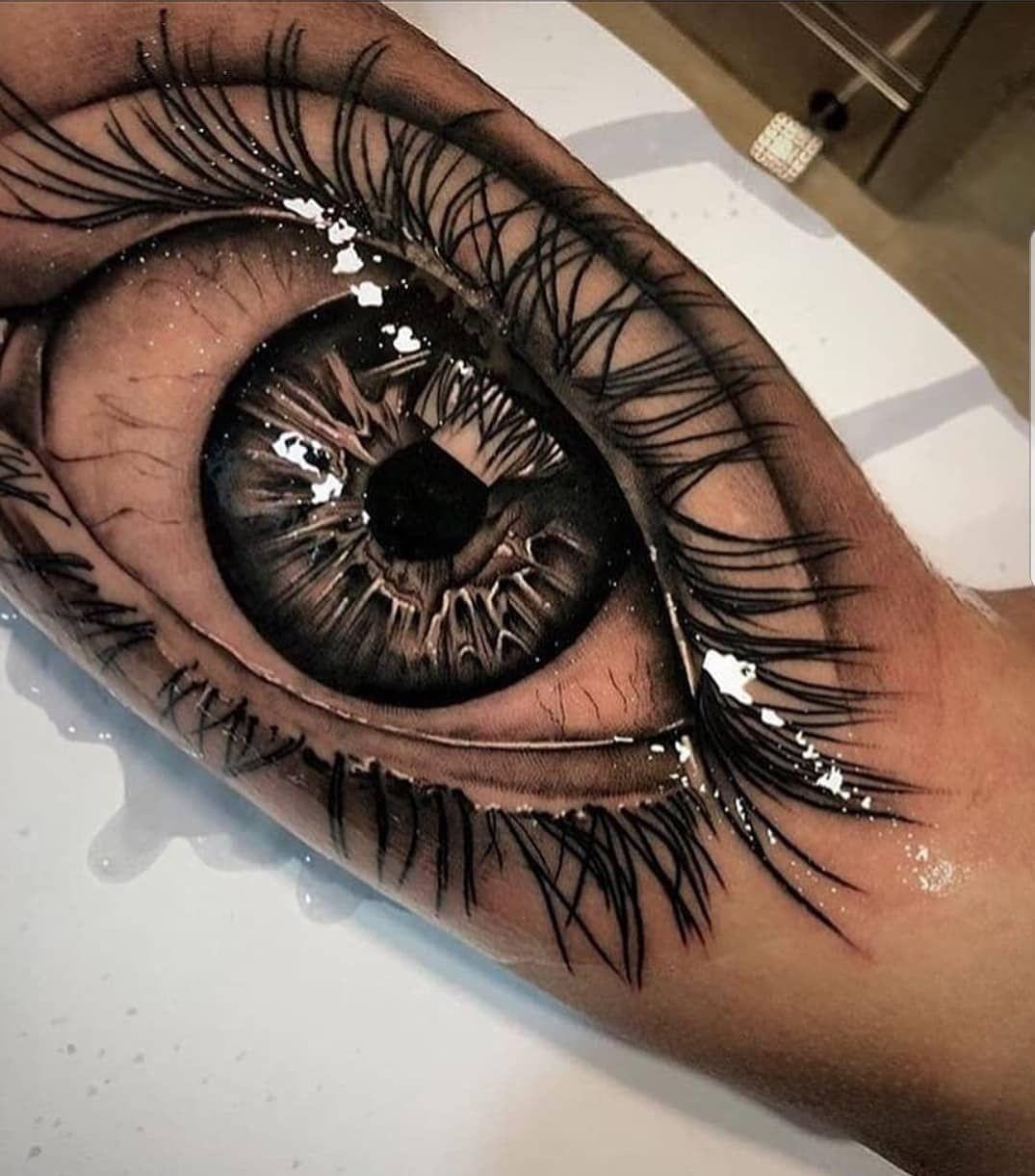 Eye For An Eye Tattoo (6)
