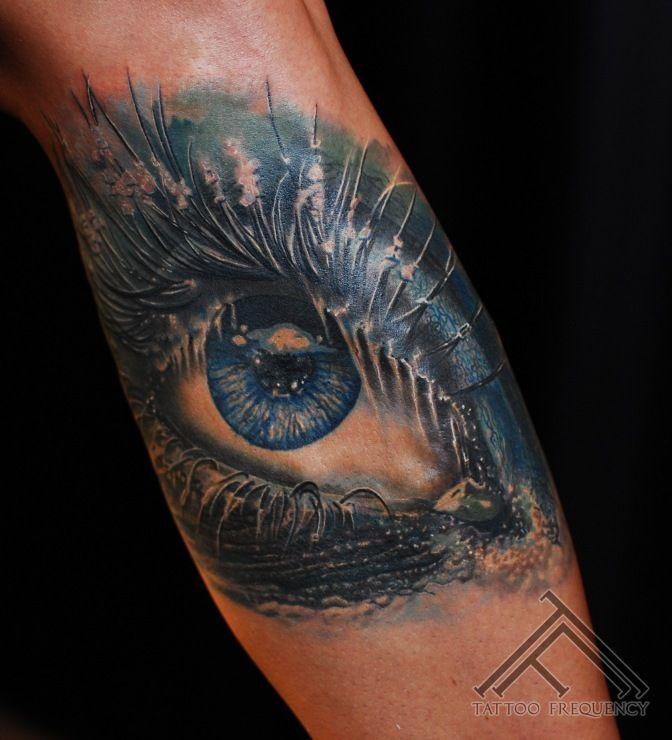Eyeball Tattoo On Arm (5)