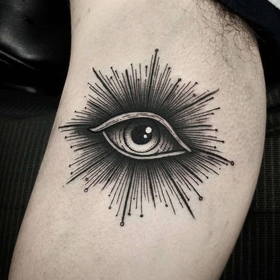 Eyeball Tattoo On Arm (7)