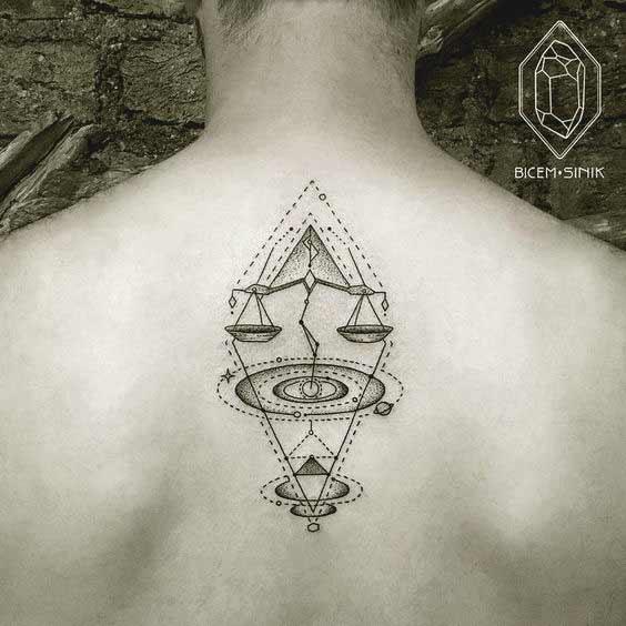 Gemini And Libra Tattoos (11)