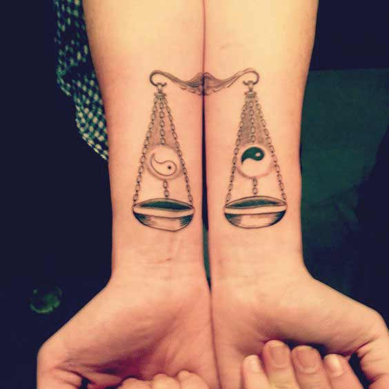 Gemini And Libra Tattoos (4)