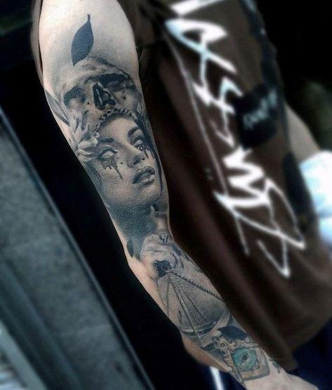 Libra Scale Tattoo Designs (10)