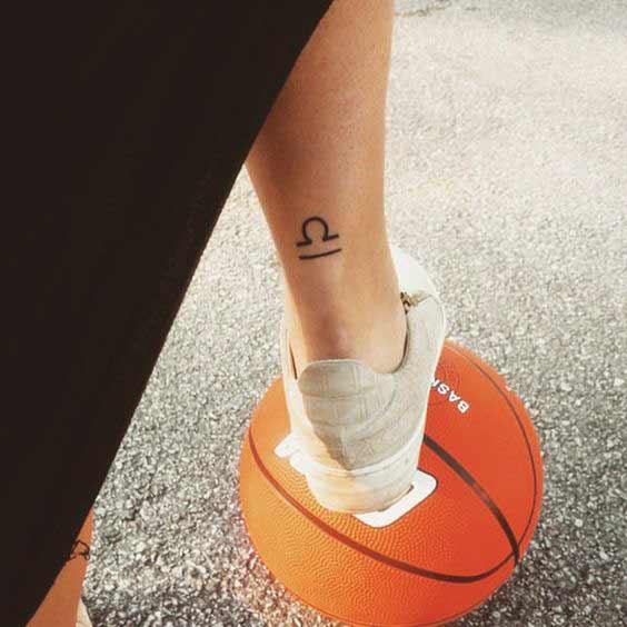 Libra Star Constellation Tattoo (6)