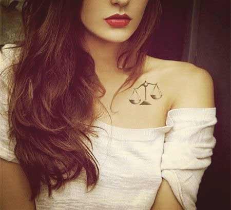 Libra Symbol Tattoo (1)