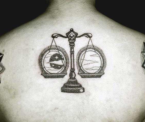 Libra Symbol Tattoo (2)