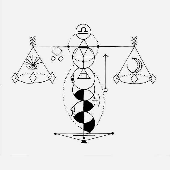 Libra Symbol Tattoo (3)