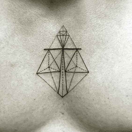 Libra Symbol Tattoo (4)