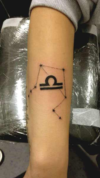 Libra Symbol Tattoo (6)
