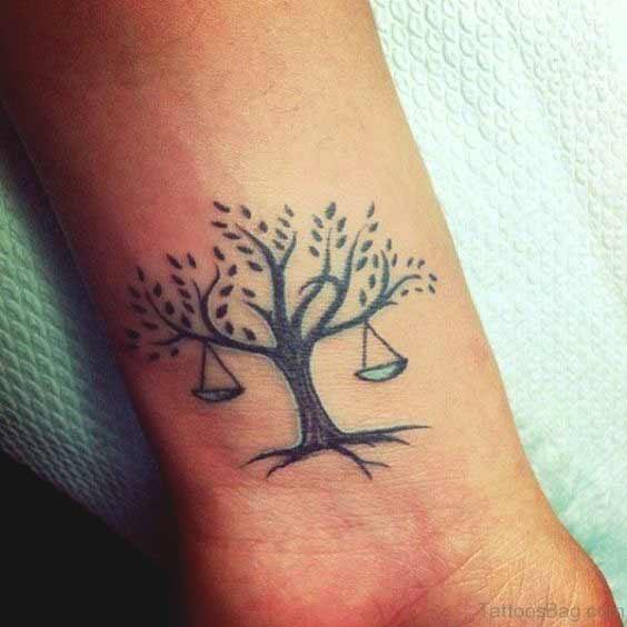 Libra Symbol Tattoo (9)