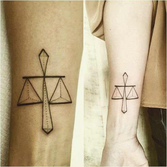 Libra Tattoo Design (10)