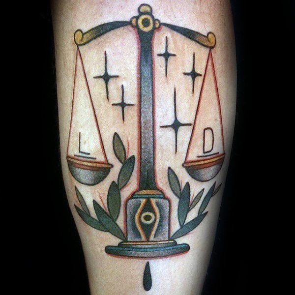 Libra Tattoo Design (4)