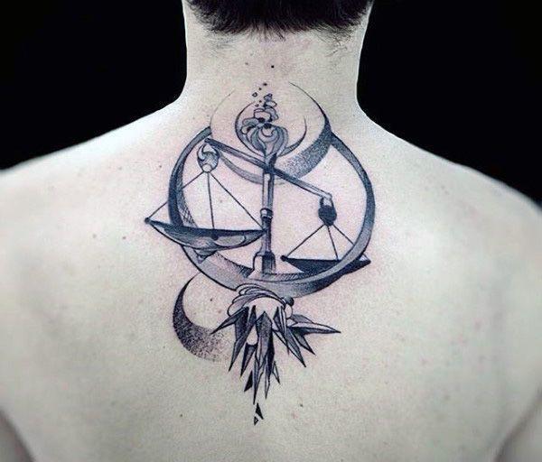 Libra Tattoo Design (5)