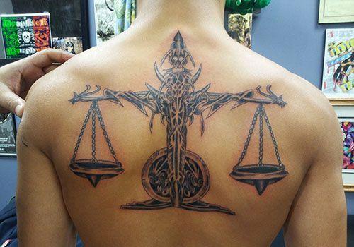 Libra Tattoo Design (7)
