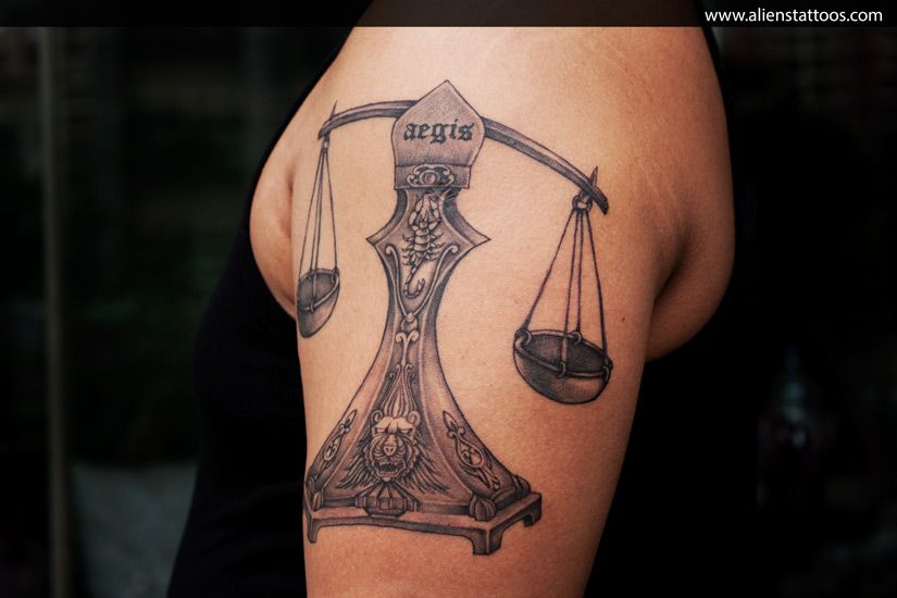 Libra Tattoo Meaning (1)