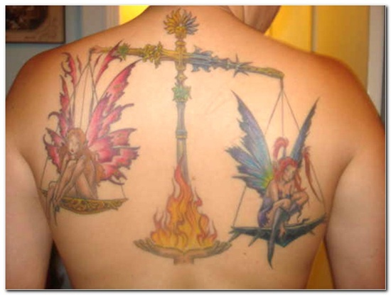 Libra Tattoo Meaning (5)